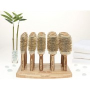 Ceramic Ionic Thermal Bamboo Brush