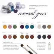 Mineral Gems Crushed Powders
