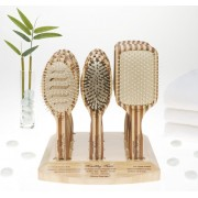 Professional Ionic Paddle Bamboo Brush